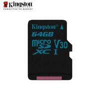 Kingston Canvas Go! 64GB Class10 micro SDXC Memory Card V30 UHS-I U3 90MB/s