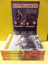 RUOTECLASSICHE ANNATA 2001 COMPLETA MILANO EDITORE.