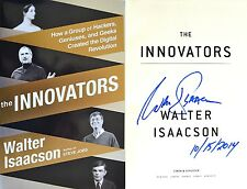 Walter Isaacson~SIGNED & DATED~The Innovators~1st/1st + Photos!! NOT Tipped-In!!