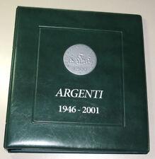 Album Raccoglitore TUTTE le monete REPUBBLICA in ARGENTO CARAVELLE COMMEMORATIVE