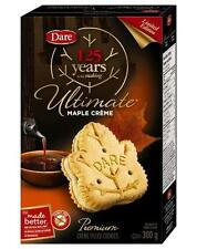 6 BOXES Dare Ultimate Maple Creme Cookies Real Maple Syrup from Canada Canadian