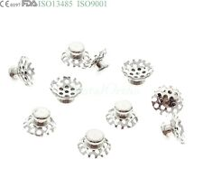 10 Pcs Lingual Button Tomy Type Dental Orthodontic Buccal Tube Molar Band Niti