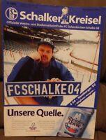 FC Schalke 04 Schalker Kreisel Magazin 02.03.1996 Bundesliga Hamburger SV /407