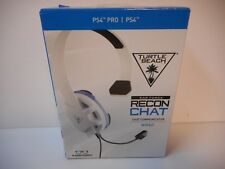 Turtle Beach Ear force Recon Chat Gaming Headset for PS4 Pro - PS4 *NEW* WT