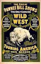 Circus Great Pawnee Bill 1903 A4 Photo Print