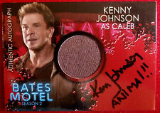BATES MOTEL - KENNY JOHNSON as Caleb - ANIMAL VARIANT - Costume & Autograph Card