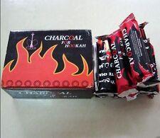 Boîte de 100 NARGUILÉ CHICHA Charcoal Charbon EZ Light Narguilé Light