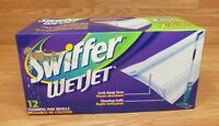 Genuine Swiffer Wet Jet 2 Refill Replacement Cleaning Pads in Box **READ**