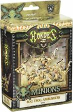 Minion: Bog Trog Ambushers Unit (White Metal) - Warmachine - NEW