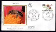 FRANCE FDC - 2039 1 ABEILLE - 31 Mars 1979 - LUXE sur soie