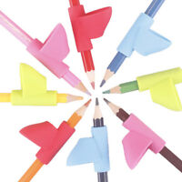 Pro Posture Correction Tool Kinder Bleistifthalter Stift Schreibhilfe Grif  T^