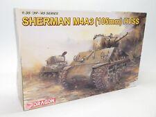 Dragon #6354 1/35 M4A3 Sherman 105mm HVSS