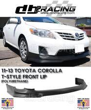 T-Style JDM Front Lip (Urethane) Fits 11-13 Toyota Corolla