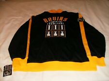 NWT/HTF MSRP $125+ BOSTON BRUINS CCM LORD STANLEY TRACK JACKET / JERSEY S,M,or L