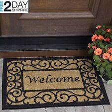 20X30 Door Mat Non Slip Indoor Outdoor Front Porch Collection Welcome Rug -NEW-