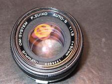 Olympus OM Zuiko Auto-S 50mm F:1.8 #1336600 Sony Nex m4/3 Nikon Canon Pentax 9++