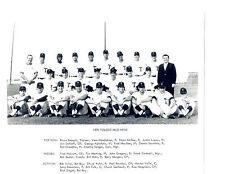1970 TOLEDO MUD HENS  8X10 TEAM PHOTO  BASEBALL OHIO USA