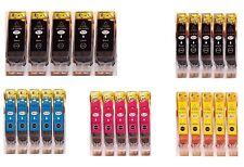 25 Patronen für CANON PIXMA iP3600 iP4600 MP540 MP550 MP560 MP580 MP620 mit Chip