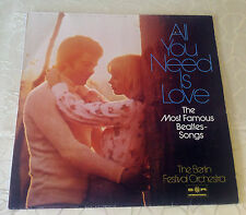 """BERLIN FESTIVAL ORCHESTRA (LP)""""ALL YOU NEED IS LOVE"""" [MOST FAMOUS BEATLES SONGS]"""