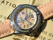 BREITLING B CLASS A67365 STAHL DIAMONDS MOP MOTHER OF PEARL TRESORWATCH