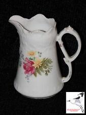 "Porcelain Victorian Small Dresser Jug Water Pitcher Sparrow Beak Spout H5"""
