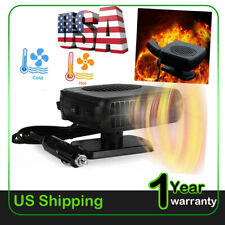 New listing 150W Portable Ceramic Car Heater 12V Dc Vehicle Heating Cooling Fan Us 2021