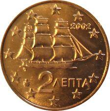 032 - 2 CENTS GRECE  - 2002 F (atelier : France)