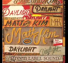 "MATT AND KIM -  Daylight  7"" Vinyl  Promo 2008 USA only 45 NEW"