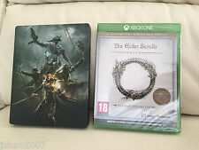 The Elder Scrolls Online Tamriel Unlimited Steelbook Edition for XBox One NEW