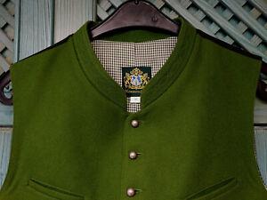 Lodenweste Max Trachtenweste Gr. 50 Gilet Laiberl Hammerschmid grün neuw. 149€