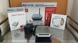 Belkin Wireless G Universal Range Extender, Model F5D7132