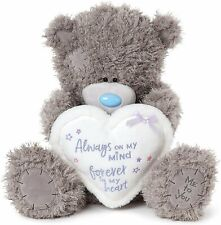 Me To You Large Winter Love Heart Tatty Teddy Bear