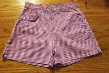 "NWT Honors Grape Ape Print Girls Shorts Size 10P - 26"" Waist X 3 1/2"" Inseam"