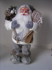 """Textil Nikolaus """"Ski"""", ca. 30 cm hoch, Weihnachten, Weihnachtsmann, Dekoration"""