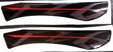 Logo Yamaha FZ 6 Nero/Argento - adesivi/adhesives/stickers/decal