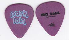 "2 1990s DUNLOP WAY HUGE STOMP BOX PROMO GUITAR PICKS ""PORK LOIN"""