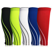 1 Pcs Compression Leg Calf Long Sleeve Support Brace Stockings For Men Women
