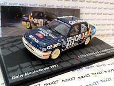 VOITURE FORD SIERRA RS COSWORTH 4X4 RALLYE MONTE CARLO 1991 1/43 EME NEUF