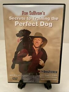 Don Sullivan's Secrets To Training The Perfect Dog DVD Set Excellent Condition