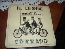 """CORRADO """" IL LEONE """"  SIGLA DOMENICA IN  ITALY'78"""