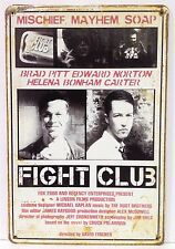 Fight Club Mischief Mayhem Soap Retro Tin Metal Sign Home Studio Workshop Pub