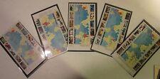 """US Postage Stamp Lot """"EVENTS OF WORLD WAR II 1941 - 1944"""" SHEET SET CV 157.75"""