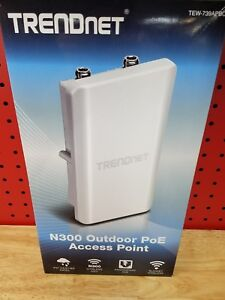 TRENDnet N300 Outdoor PoE Access Point TEW-739APBO External Antenna Required