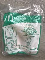 snoopy charlie brown mcdonald happy meal woodstock bobble 2015 unopened new