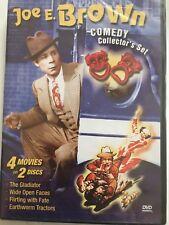 Joe E. Brown Comedy Collector's Set,(4 Movies) DVD, Charles C. Wilson, OOP