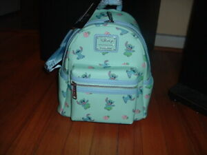 LOUNGEFLY STITCH HULA MINI BACKPACK~ WITH TAGS~BRAND NEW~