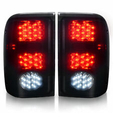 For 1993-1999 Ford Ranger Car Replacement Smoke LED Tail Lights Stop Brake Lamps