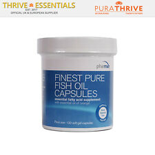 Pharmax Finest Pure Fish Oil (120 Gel Capsules) - Natural Triglyceride Form