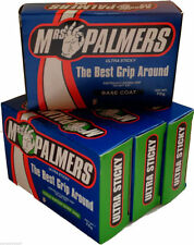 Mrs Palmers 1x Base Coat PLUS 3X Cold Water - 4 Pack of  Surf Wax Surfboard