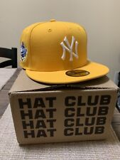 Exclusive New Era 59Fifty Taxi New York Yankees 1998 World Series Patch - Gold